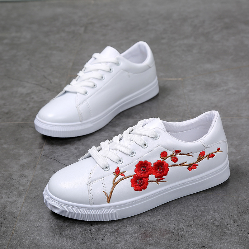 White shoes with flowers off43 discounts white shoes with flowers mightylinksfo