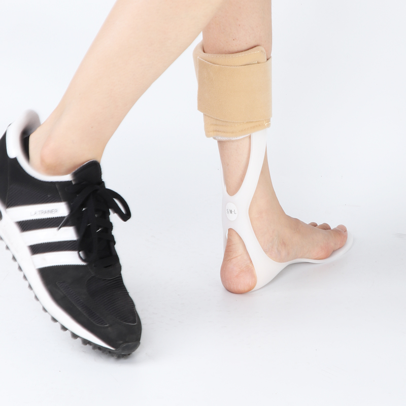 AFO Ankle Foot Orthosis For Drop Foot Rehabilitation Of Varus Foot And Talipes Valgus Hemiplegia Support Durable PP Leaf Spring 3