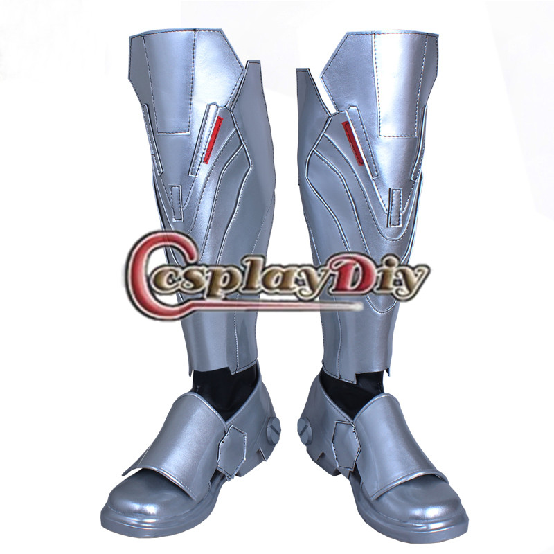 Game Reaper Boots Adult Men's Knee High Fighting Long Boots Custom Made reaper man