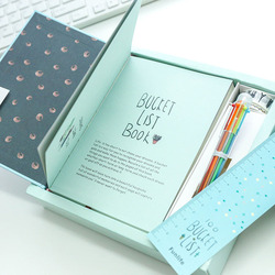 A5 Kawaii Hardcover Notebook Stationery Planner Cute School Diary Libretas Memos Student Gift School Chancery