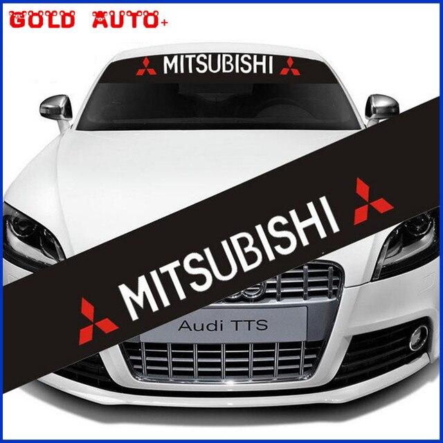 Us 969 Naklejki Dekoracyjne Dla Mitsubishi Osobowości Uniwersalne Szyby Samochodu Zmodyfikowane Naklejki Czarny Dno Odblaskowe Naklejki