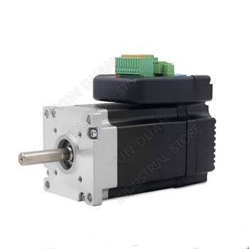 140W NEMA23 Integrated Servo 36VDC 3000RPM 57mm 0.45Nm 45Ncm Driver + Motor + Encoder Brushless All in one 8poles 3phase