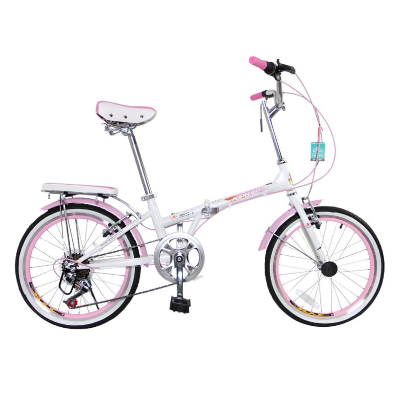 Forever Male And Female Ultra-light Portable Aluminum Alloy 20-inch Folding Bicycle