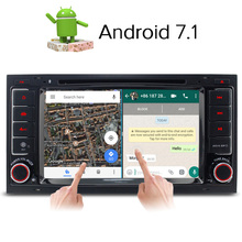 A-Sure Android 7.1 Quad Core Car DVD Radio GPS For Volkswagen VW Transporter Multivan T5 with 4G GPS DAB+ RDS BT WIFI Mirror