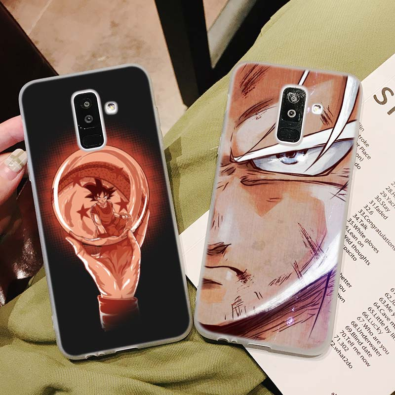 Silicone Phone Case Dragonball fighting Printing for Samsung Galaxy A8S A9 A8 Star A7 A6 A5 A3 Plus 2018 2017 2016 Cover in Fitted Cases from Cellphones Telecommunications