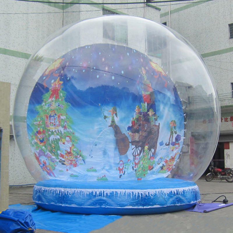 Online get cheap clear inflatable globe for Outdoor christmas globes