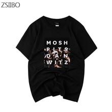 Mens t shirt Panic At The Disco Print Original Streetwear Thin T-Shirt Hip Hop Skateboard Tops Men and Women XXXL