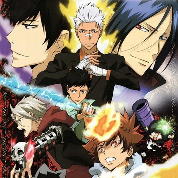 Katekyo Hitman Reborn Anime Characters 45*45CM Square