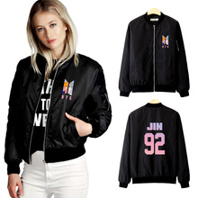 BTS Spring zip-up Jacket [3 colors]