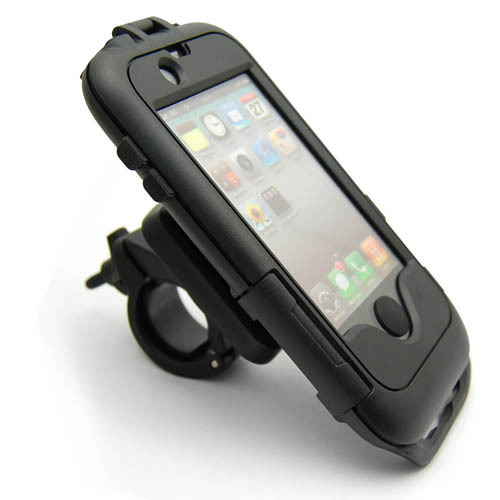 pretty nice f7af4 296ad US $19.99 |Bike Motorcycle Handlebar Waterproof Case Cover Mount Holder For  iPhone 4 4G 4S on Aliexpress.com | Alibaba Group