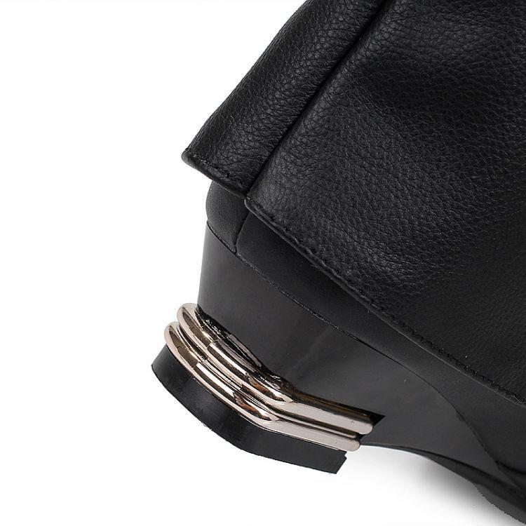 Femme Estilo Invierno De Altos Zapatos Chaussure Agua blanco Mujeres Femenina marrón Botas Mujer Negro rojo Tacones Masculina Botines 306 q0q5wFr