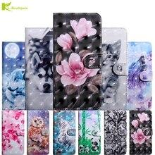 3D Flip Leather Case Etui on For Coque Xiaomi Redmi S2 Cases sFor Y2 Fashion Cartoon Wallet Cover Fundas