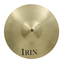 IRIN 14″ in Size Crash Ride Hi-Hat Cymbal Brass Alloy for Drum Set