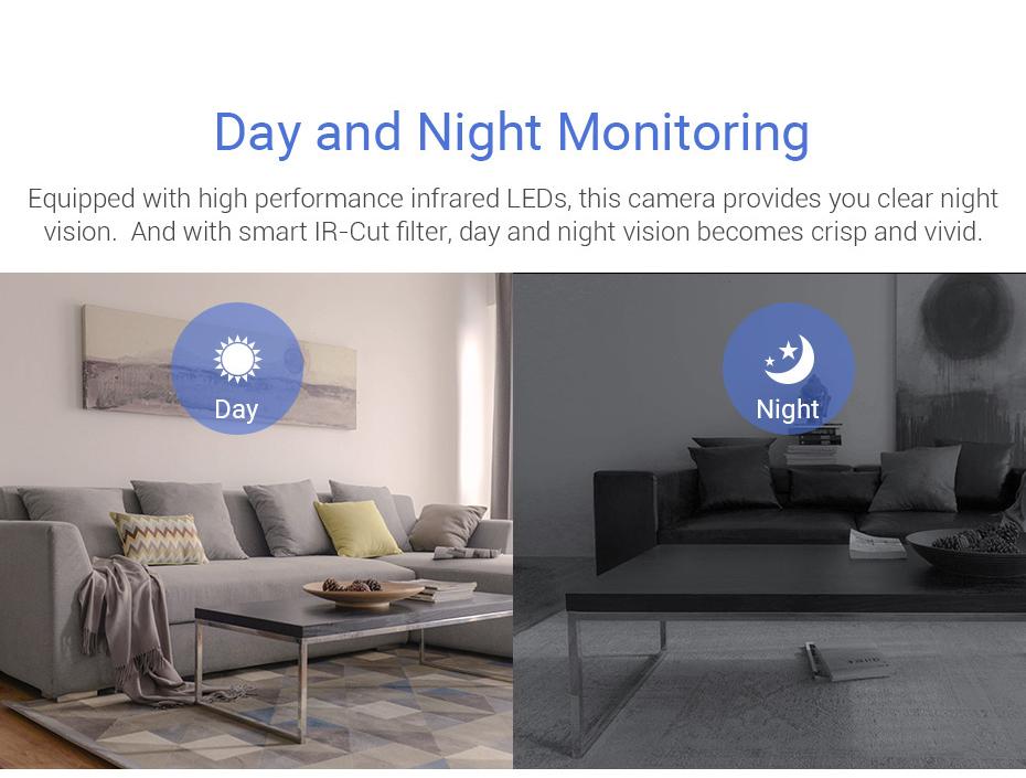 H.VIEW 360 CCTV Camera 720P IP Camera Wifi Cameras 960P Camara IP 1200TVL Fisheye Video Surveillance Cameras (13)