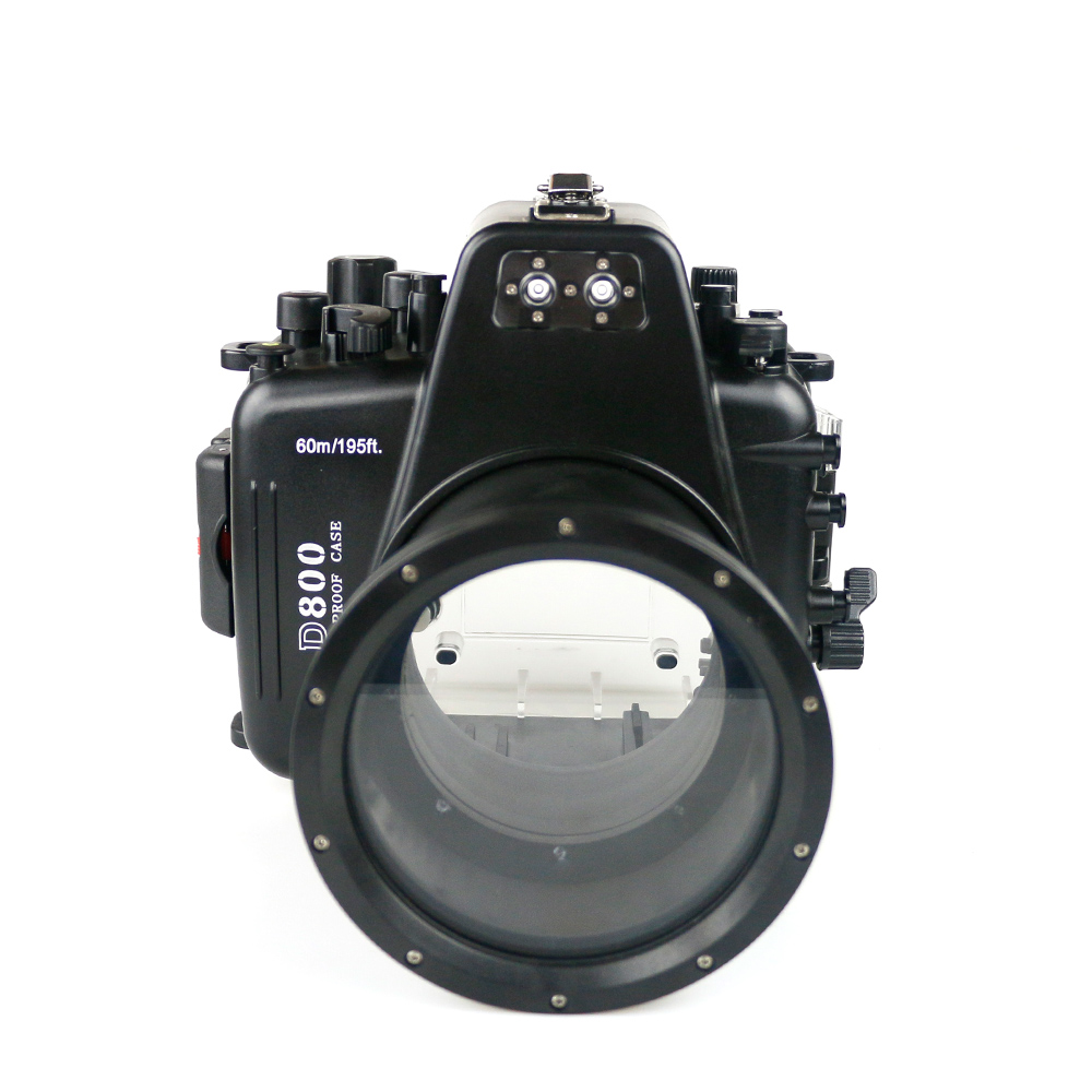 Scuba Diving Camera Waterproof Housing for Nikon D800 105mm Camera Bag Underwater Action Photography Impermeable Case Cover