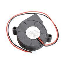 Термопластиковый Компьютерный Вентилятор кулер для воды охлаждающий воздушный вентилятор постоянного тока 12 В Средний бесщеточный турбонагнетатель центробежный вентилятор 2 провода кулер