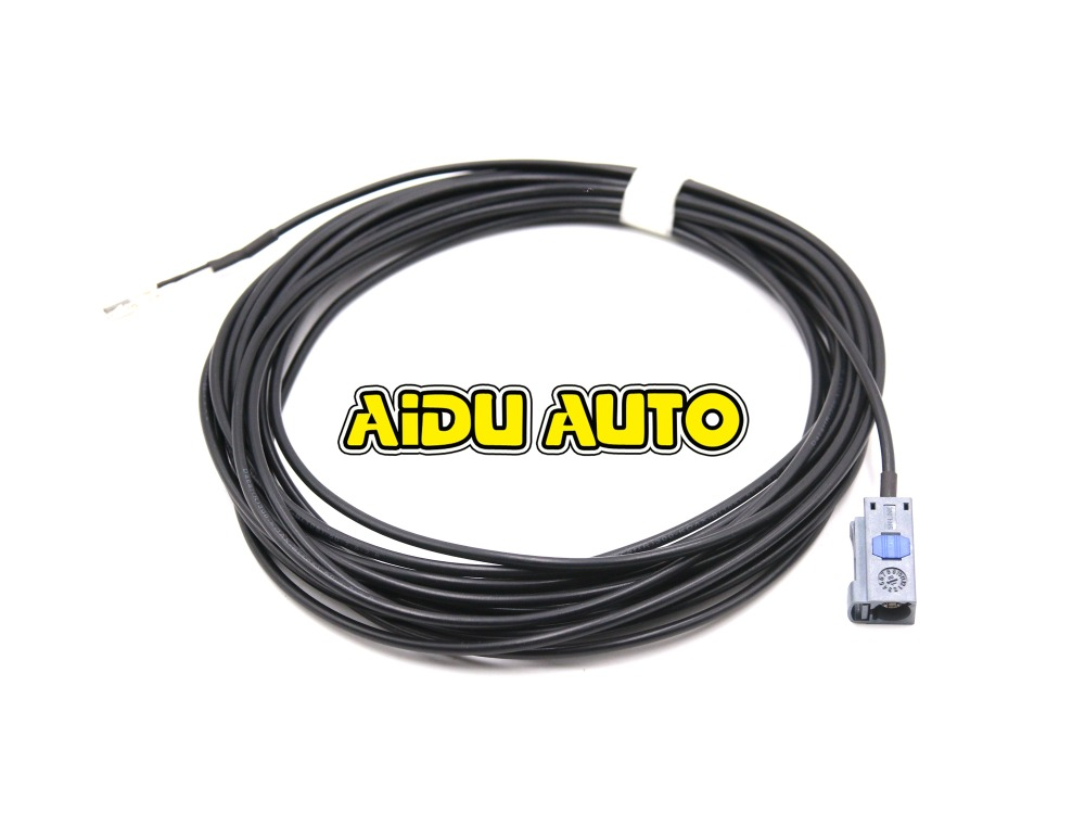 For VW MIB Rear Camera STD2 ZR NAV Discover Pro Radio Video output Screen Cable Wire harness