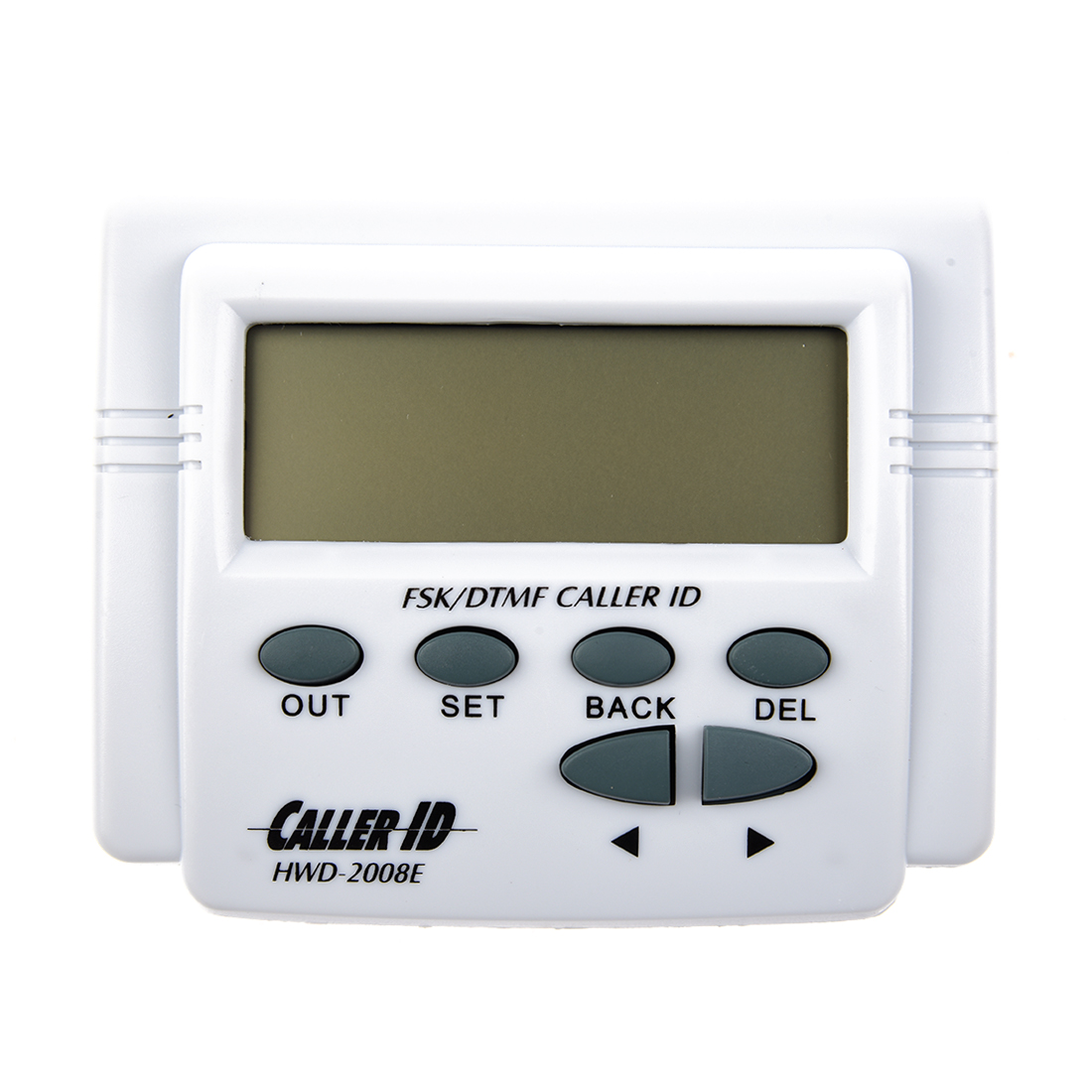 White handset display DTMF FSK Caller ID Box with Call History