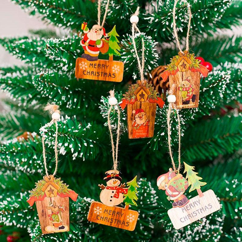 Christmas Decorations Santa Claus Christmas Tree Hanging ...
