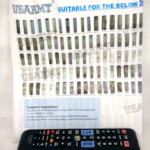 Image 5 - New remote control SAM 918 Universal For Samsung TV 3D LCD TV Controle remoto telecomando With NETFLIX AMAZON BN59 0..  AA59 0..