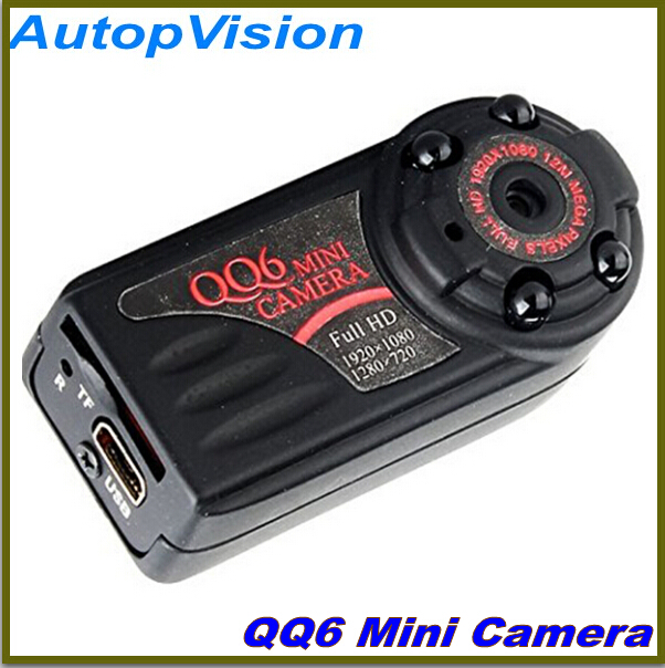 Mini Full HD 1080P wide Infrared Night Vision Not Flash Wireless Motion Detect  Video Camera DV Camcorder QQ6