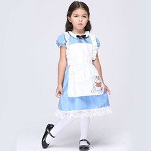 Kids Maids Cosplay Costume Children Halloween Performance Costumes Anime Holiday Role Playing Party Dancing Dress Drama Clothing kids cosplay star wars the force awakens imperial stormtrooper role playing costumes uniforms performance performance clothing