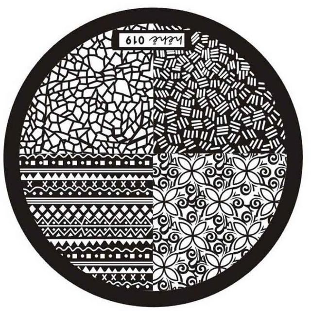 Hot Nail Art Image Stamping Plates Manicure Template