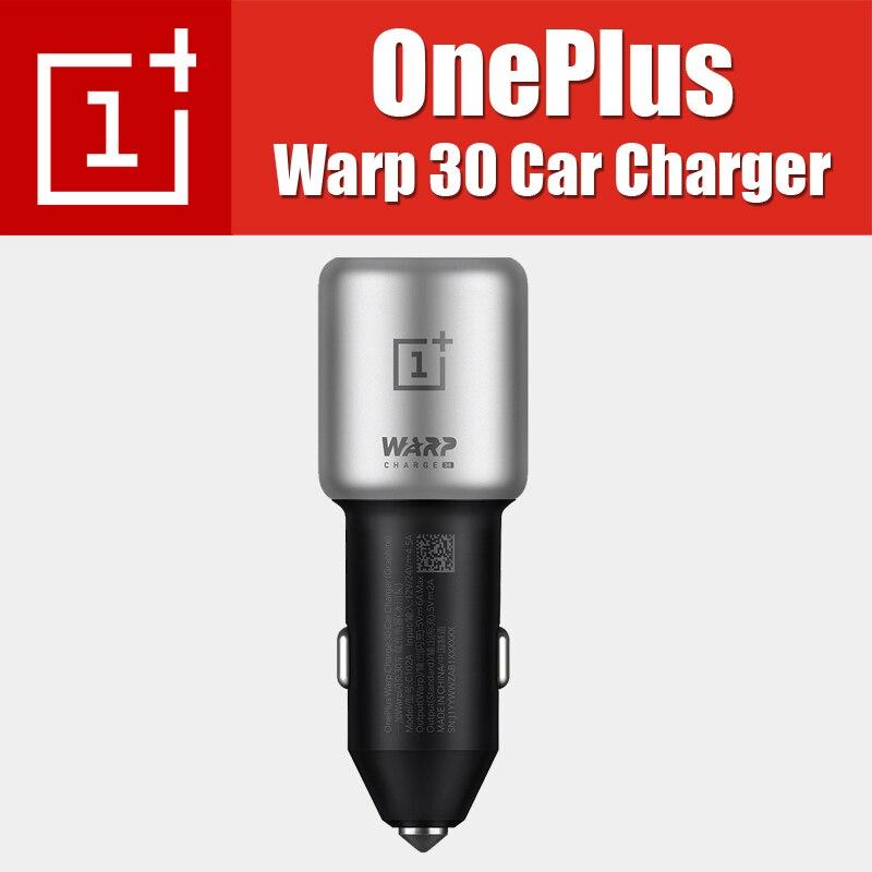 C102A 39g seul OnePlus Charge de chaîne 30 chargeur de voiture 5 V = 6A max pour OnePlus 7 Pro 7 6 T 6 5 T 5