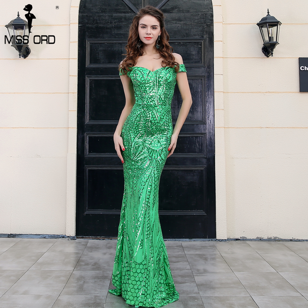Missord 2018 Sexy O Neck Long Sleeve Retro Sequin Maxi Gorgeous ...