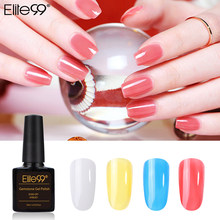 Elite99 10ml Gemstone UV Gel Nail Polish Kit Soak Off Platinum Bling Gel Varnish Translucent Nail Art Manicure Gel Nail Lacquer(China)