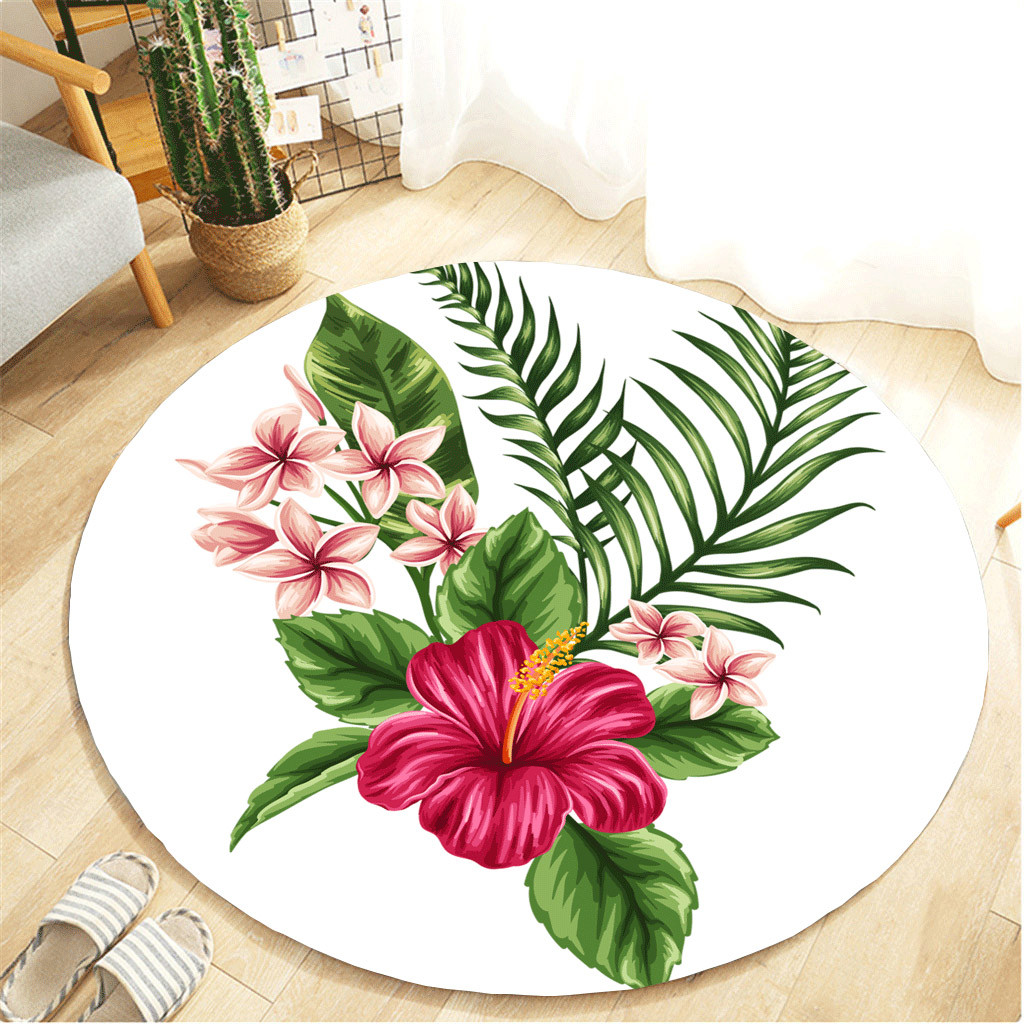 Blanket Round Bathroom Carpet 55cm