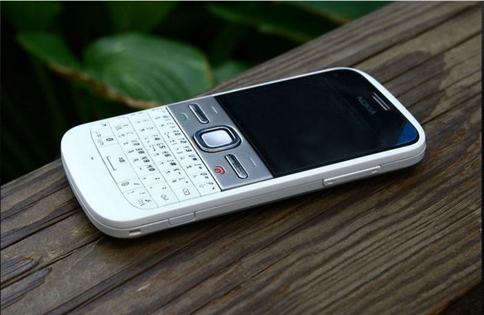 Refurbished phone Nokia E5 5MP Camera 3G network english languge cell phones silver 4