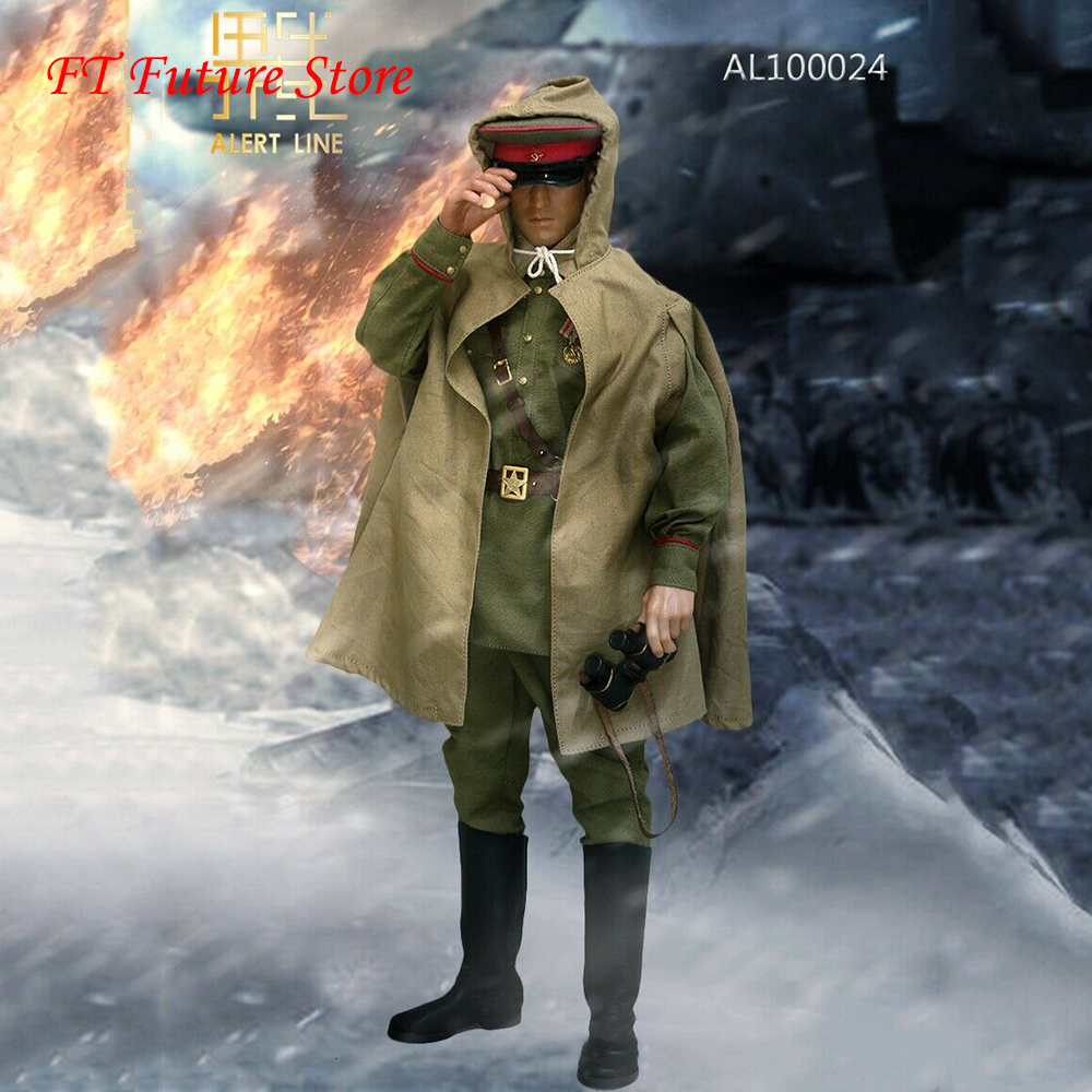 1//6 Scale Alert Line Figures Red Army Senior Officer Tall Boots for Feet