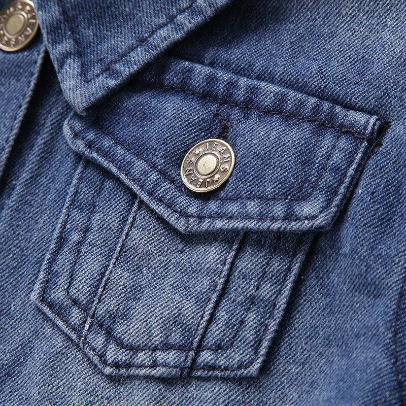 DIMUSI autumn Boys Denim jacket For children spring kids Motor Jacket windbreak patchwork Denim Jackets children clothes BC081
