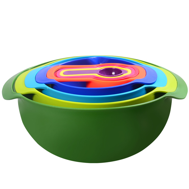 New Design Kitchen Rainbow Bowl Multifunctional Small Non Slip