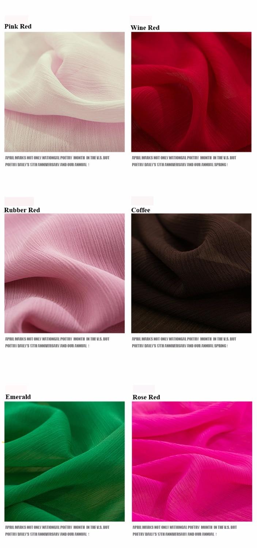 2018 res posebna ponudba barvana 21 barvnih modnih 75D 100% poliester - Umetnost, obrt in šivanje - Fotografija 2