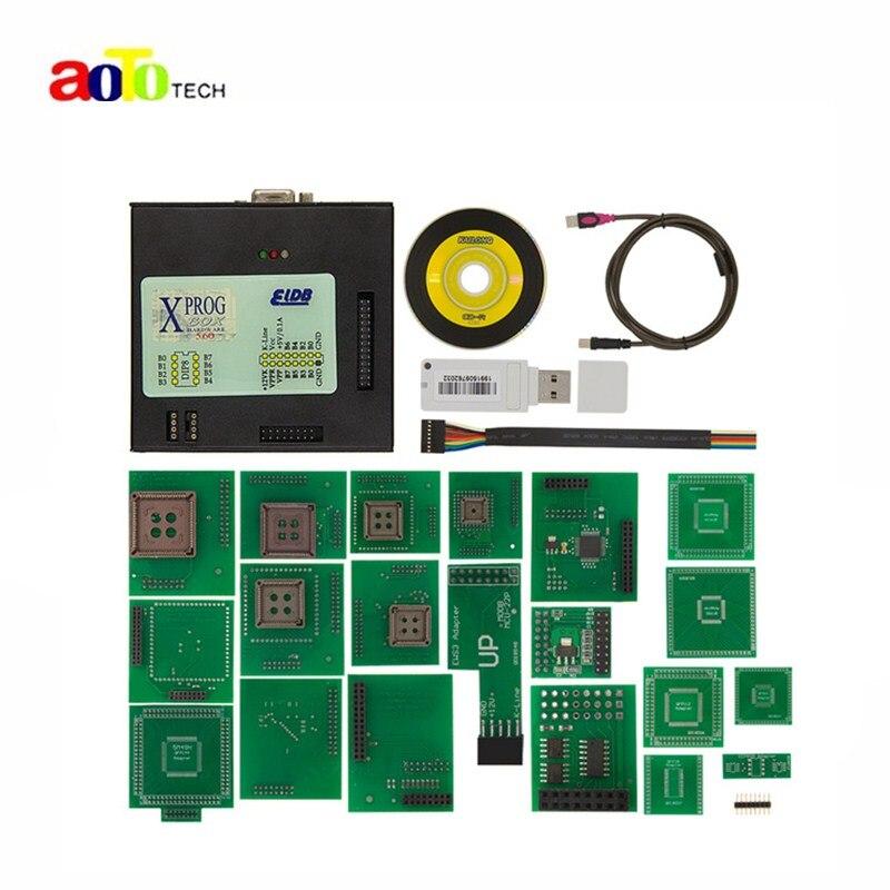 For BMW CAS4 XPROG-M V5.60 ECU Chip Tunning XPROG M v5.60 X-PROG with USB Dongle Better Than XPROG M v5.55