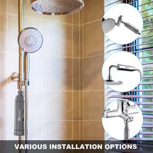 Image 5 - Wheelton スパ水着削除塩素水フィルター清浄機シャワーろ過軟水添付余分な 3 カートリッジ
