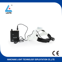 LED surgical headlight rechargeable with battery 3w dental exam headlight lamp free shipping 1set
