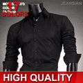 Mens Fashion Cotton Designer Cross Line Slim Fit Dress man Shirts Tops Western Casual S M L XL  XXL 8373