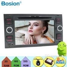 Per Ford Mondeo S-max Fuoco C-MAX Galaxy Fiesta Forma di Fusione 2 DIN car DVD player GPS Radio stereo di navigazione Octa Core audio