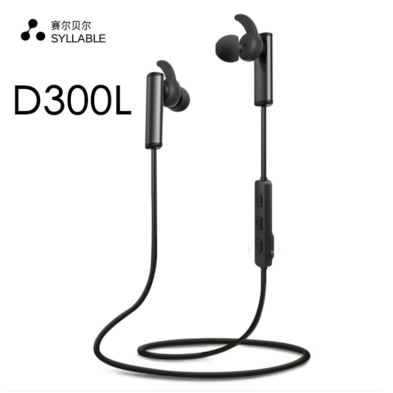 2017 Original SYLLABLE D300L Bluetooth 4.1 Earphone Wireless earpiece Earphone Earbud with Mic Stereo Headset for Mobile Phone sports bluetooth headset noise canceling earphone earbud wireless car earpiece with mic workout business headphone for iphone x