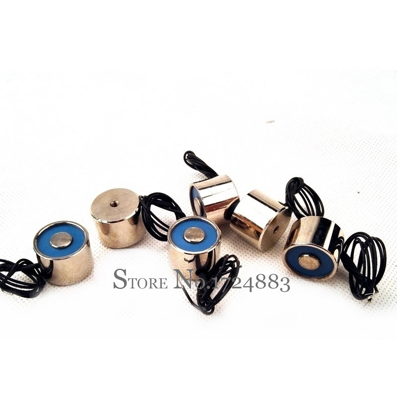 P20/15 holder magnet electric magnet 2.5kg lift 25N dc 3v 6v 12v 24v waterproof electromagnet solenoid 50 30 dc 6v 12v 24v waterproof energized hold electromagnet 60kg sucker electric magnet coil portable lift powerful 12 solenoid