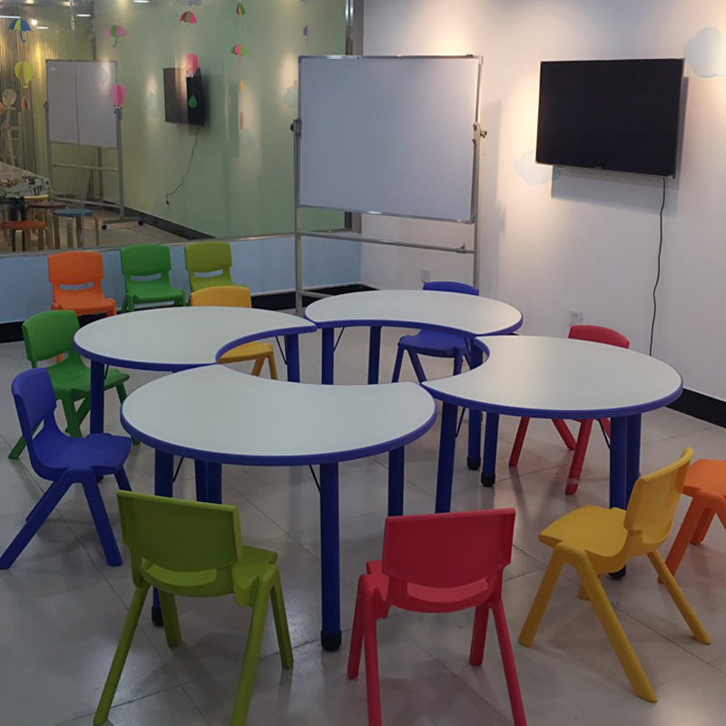 Preschool children in kindergarten desks and chairs lift study tables wood  dining table can fight half formula in Children Tables from Furniture on  Preschool children in kindergarten desks and chairs lift study  . Preschool Chairs Free Shipping. Home Design Ideas