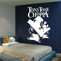Piece אנימה Cartoon אחת היפני מדבקות קיר מדבקות פוסטר Choppa טוני האגדי אופי לחדר תפאורה של קיד כיסוי קיר