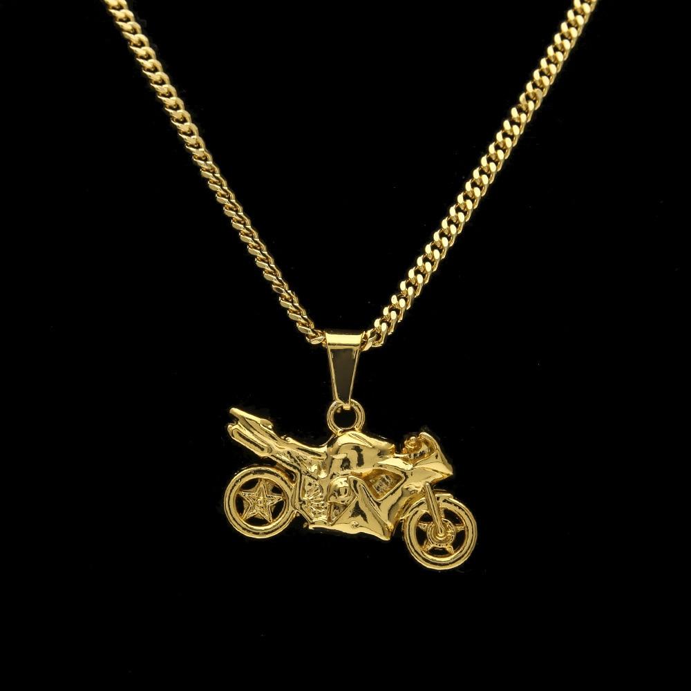 Hip hop golden motorcycle pendants chains men women iced out bling hip hop oro motores ciclo colgantes cadenas hombres mujeres helado bling artesana joyera regalos motores racing mozeypictures Choice Image