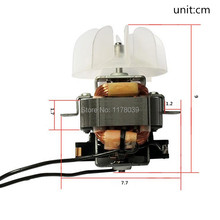 professional high power hairdryer motor,Single phase series motor AC 220V 50HZ hairdryer AC motor accessories,J17621