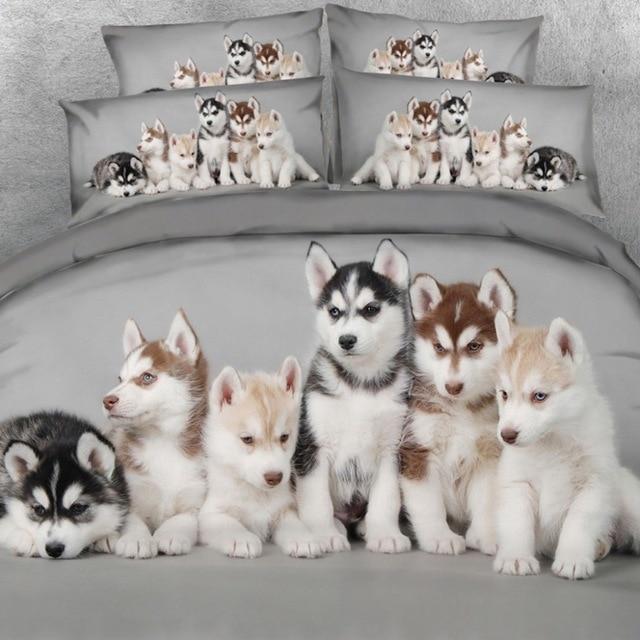 Royal Linen Source Brand Husky Babies Bedding Set Lovely