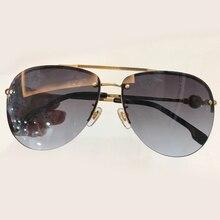 Piloto Óculos De Sol Dos Homens Designer de Marca de Alta Qualidade Eyewear Oculos de sol Masculino Da Forma Do Vintage Feminino Shades Gradient Lens