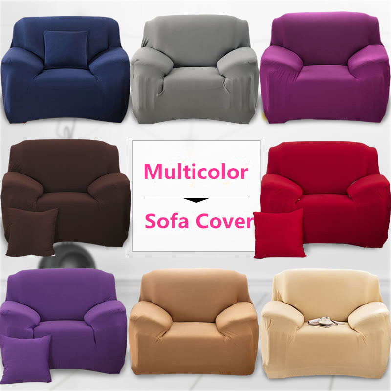 2017 Mulitcolor Sectional Flexible Stretch Sofa Cover Big